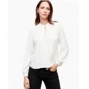 Aritzia Wilfred Estienne Blouse White